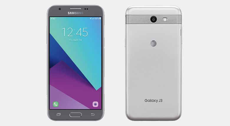 promo code 7677e c189f Samsung Galaxy J3 works with two nanoSIM slots – the first sim slot is  separated, while the other one is next to the microSD slot on the side, ...