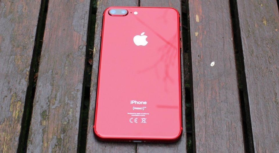 Red Iphone  Plus Lifeproof